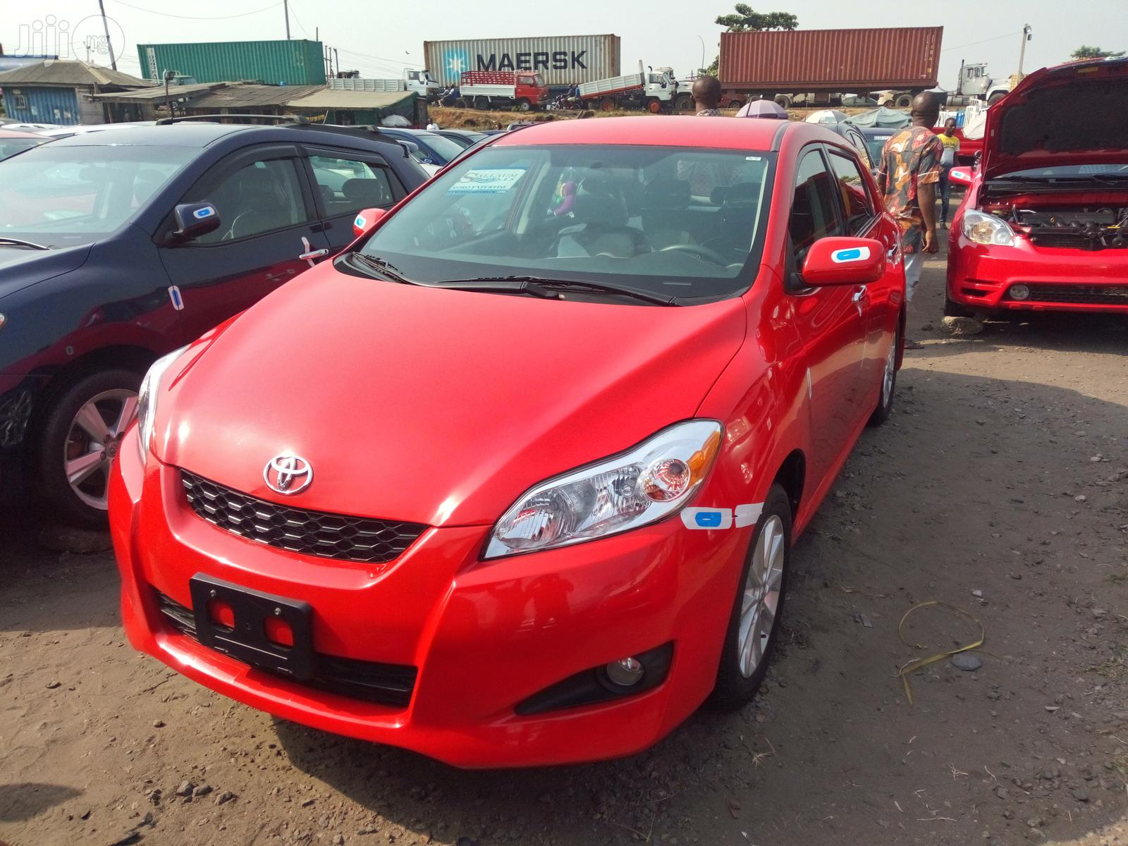Toyota Matrix 2010 Red In Apapa Cars Prince Cosmos Jiji Ng For Sale In Apapa Prince Cosmos On Jiji Ng