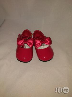 Red Bear Dress Shoe for Baby Girls.   Children's Shoes for sale in Lagos State, Lagos Island (Eko)