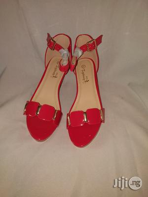 Red Sandals For Girls | Shoes for sale in Lagos State, Lagos Island (Eko)