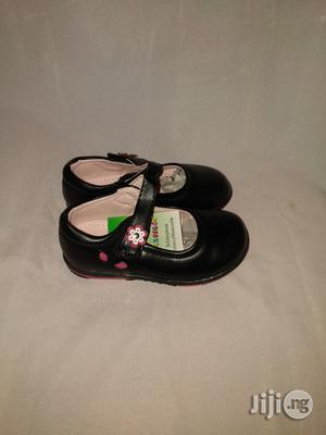 Flat Black Dress Shoe for Baby Girls   Children's Shoes for sale in Lagos State, Lagos Island (Eko)