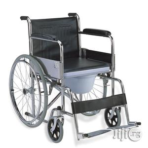Medical Wheelchair With Commode | Medical Supplies & Equipment for sale in Lagos State, Ikeja