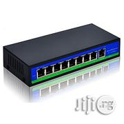 8 Port POE Switch 10/100 Mbps For IP Camera / IP Phone / Power | Security & Surveillance for sale in Lagos State, Ikeja