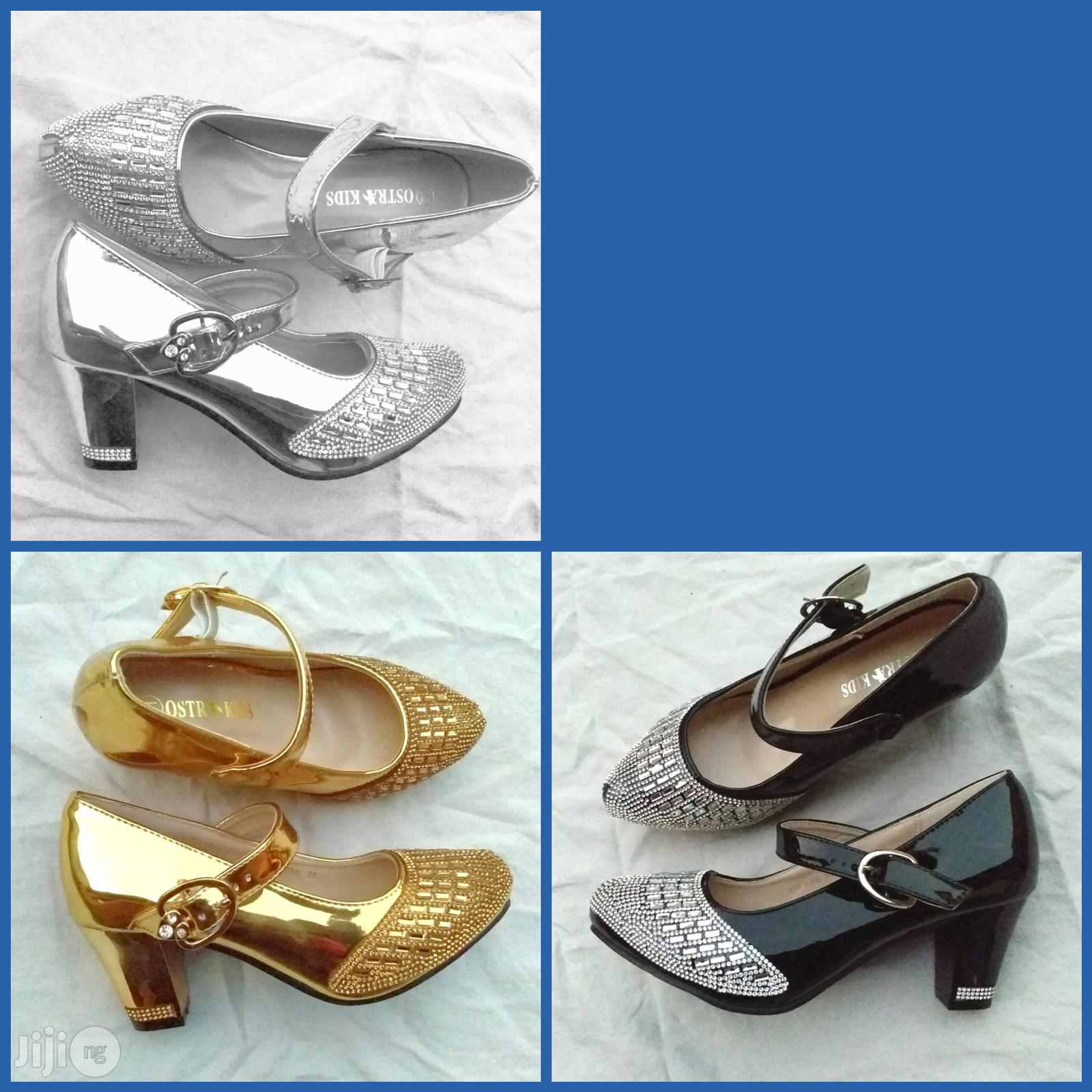 Archive: Girl's Classy Bejeweled Shoes