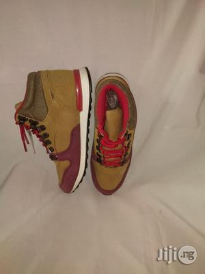 Brown High Top Canvas Sneakers for Boys | Children's Shoes for sale in Lagos State, Lagos Island (Eko)