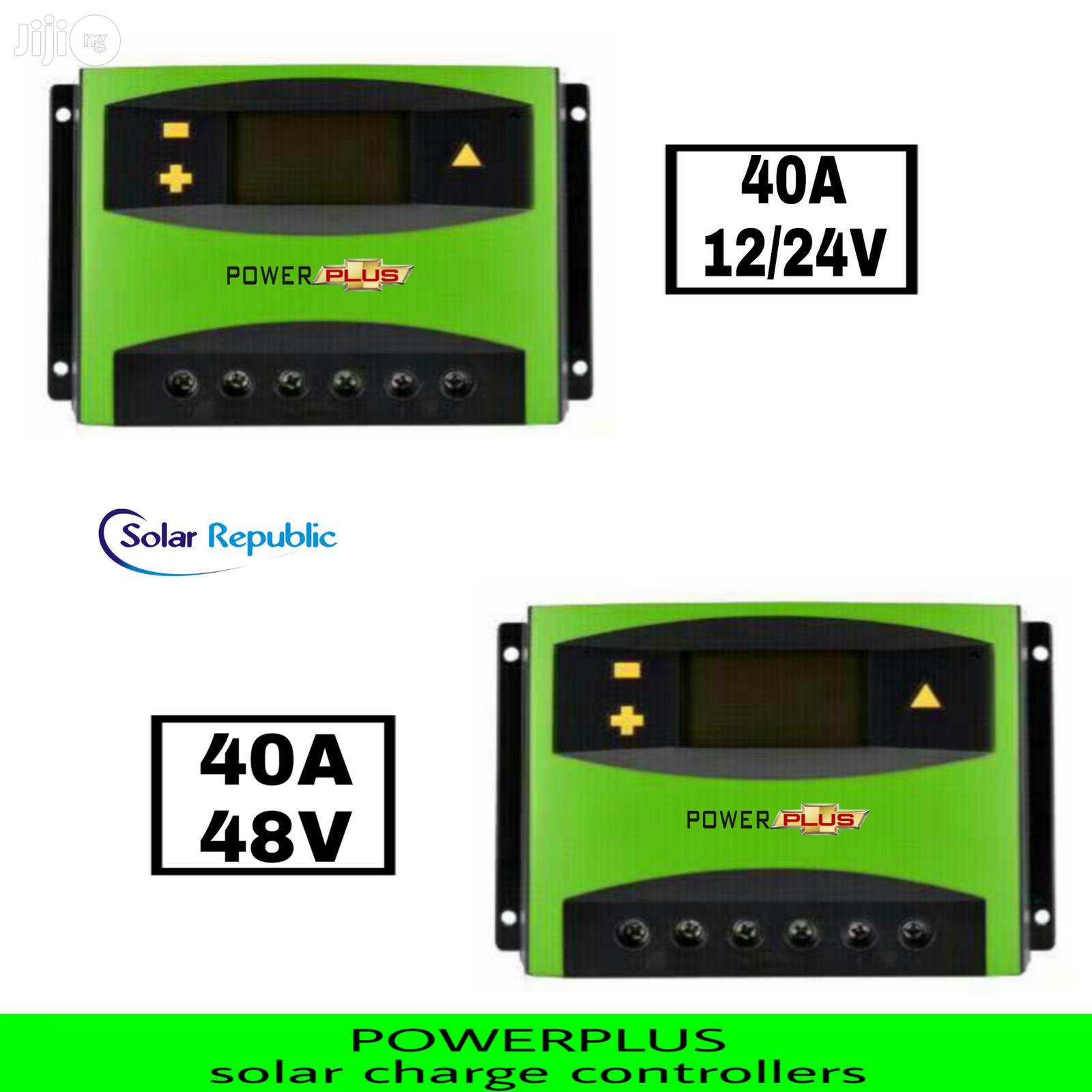 40A Charge Controller Powerplus TK