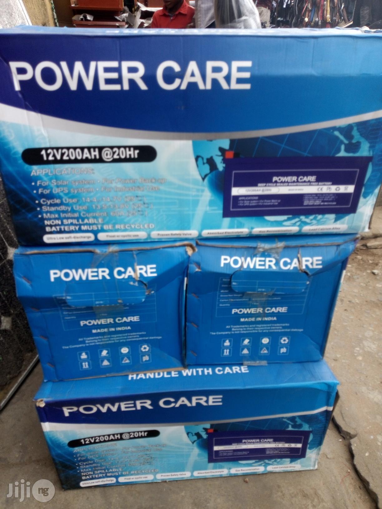 Power Care 12V/200ah(20hrs)