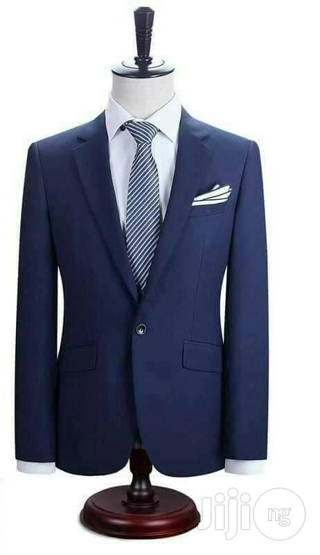 Men's Suit - Navy Blue | Clothing for sale in Ifako-Ijaiye, Lagos State, Nigeria