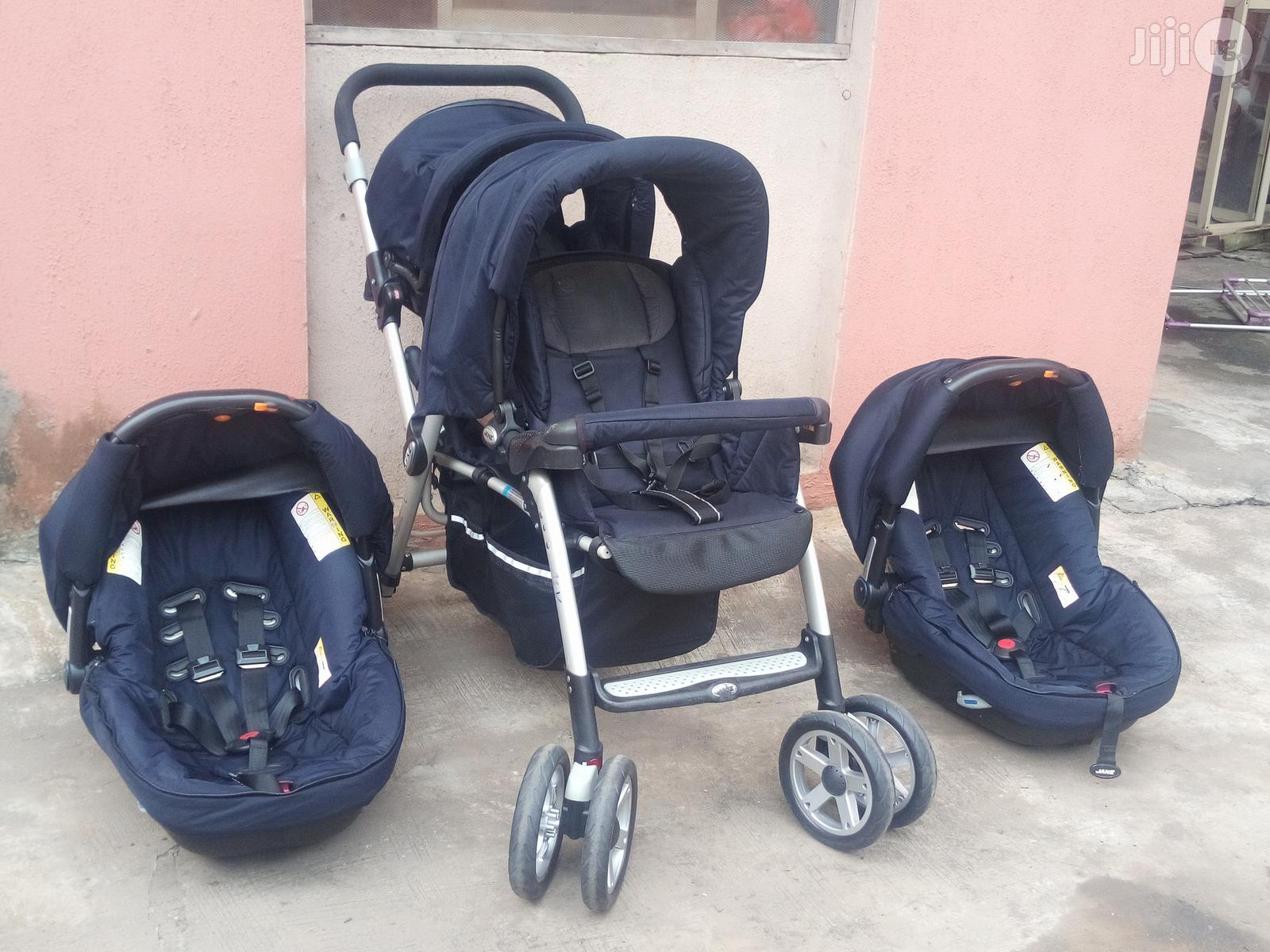 Tokunbo UK Used Jane Twin Stroller With Car Seat From Newborn To Toddler | Prams & Strollers for sale in Lagos Island (Eko), Lagos State, Nigeria