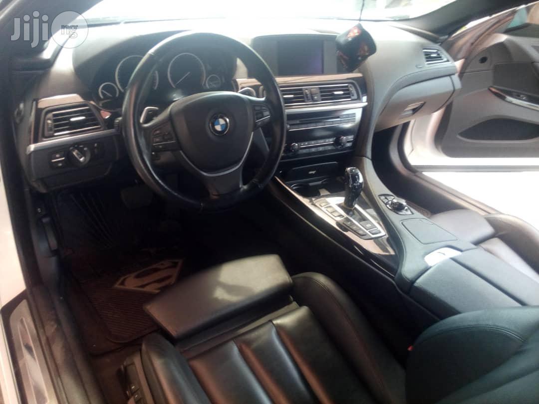 Almost New BMW 650i 2013 White | Cars for sale in Jabi, Abuja (FCT) State, Nigeria