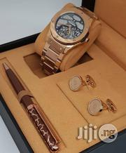 Hublot Skeleton Rose Gold Chain Wrist Watch | Watches for sale in Lagos State, Lagos Island