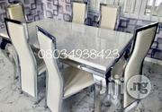 Lovely Sitting Room Six Seater Marble Dining Table | Furniture for sale in Lagos State