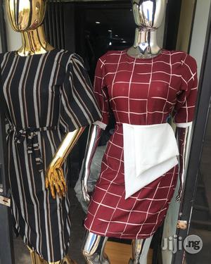 Female Silver And Gold Chrome Display Female Mannequin   Store Equipment for sale in Lagos State, Lagos Island (Eko)