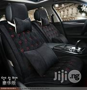 Black Plush European Car Seat Cover   Vehicle Parts & Accessories for sale in Lagos State, Ikeja