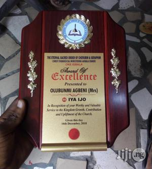 Award Plaque With Print | Arts & Crafts for sale in Lagos State, Badagry
