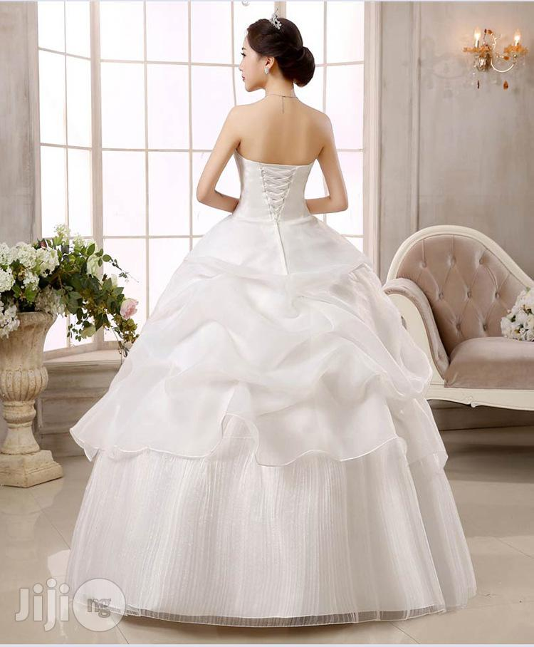 Luxury Autumn And Spring Wedding Dress | Wedding Wear & Accessories for sale in Ikeja, Lagos State, Nigeria