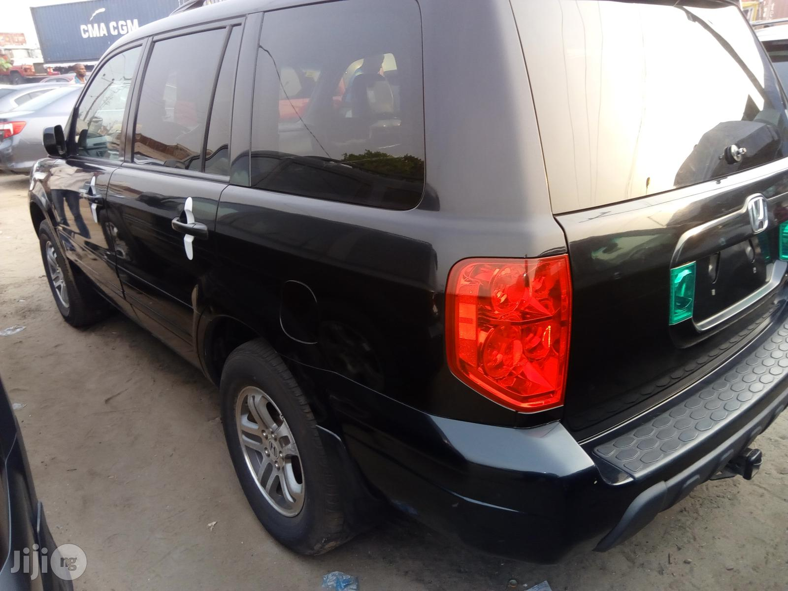 Honda Pilot 2005 LX 4x4 (3.5L 6cyl 5A) Black | Cars for sale in Amuwo-Odofin, Lagos State, Nigeria