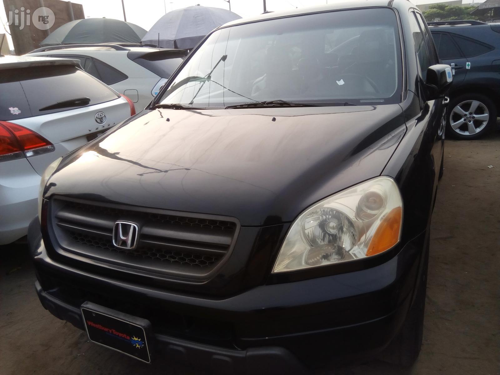 Honda Pilot 2005 LX 4x4 (3.5L 6cyl 5A) Black
