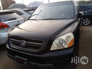 Honda Pilot 2005 LX 4x4 (3.5L 6cyl 5A) Black | Cars for sale in Lagos State, Amuwo-Odofin
