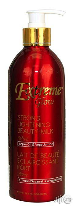 Extreme Glow Strong Lightening Beauty Milk, 500ml | Skin Care for sale in Abuja (FCT) State, Gwarinpa