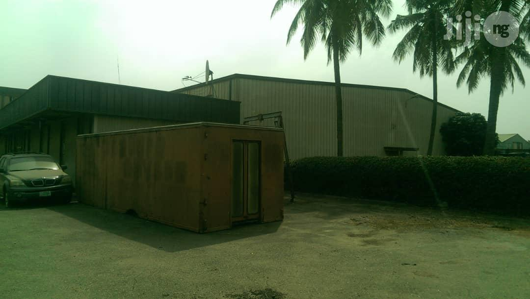 4300sqm Land + Warehouse Structure for Sale at Acme Rd Ikeja