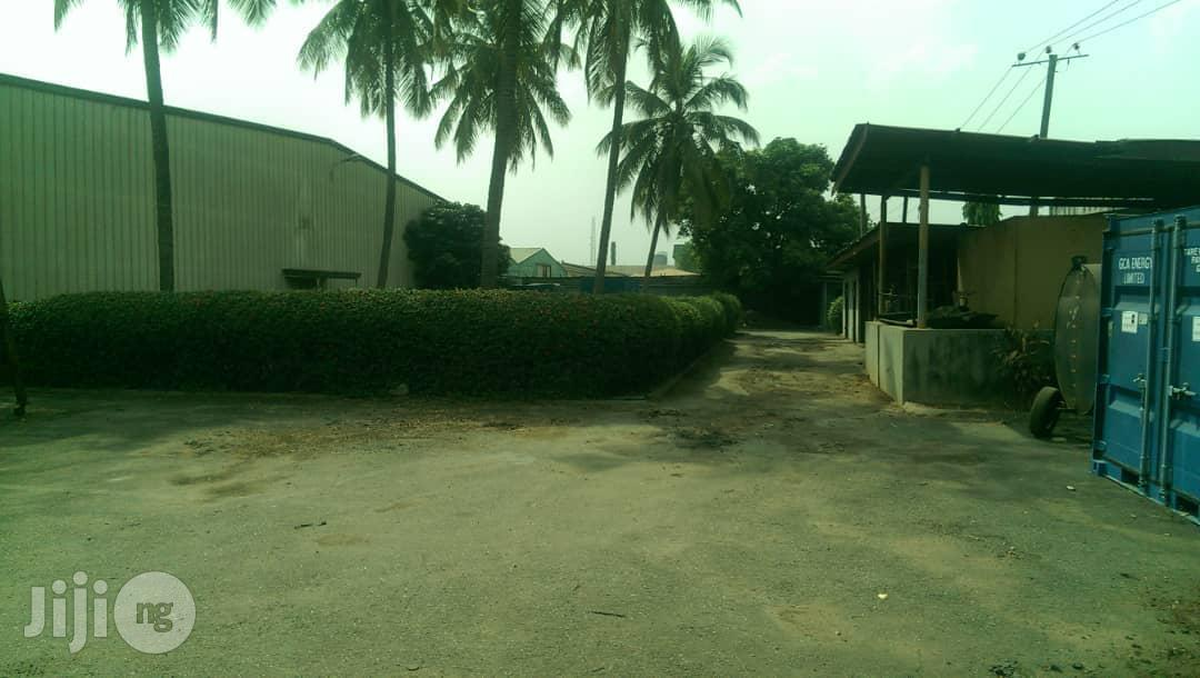 4300sqm Land + Warehouse Structure for Sale at Acme Rd Ikeja   Commercial Property For Sale for sale in Ikeja, Lagos State, Nigeria