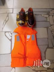 Safety Boot And Life Jacket. | Safety Equipment for sale in Rivers State, Gokana