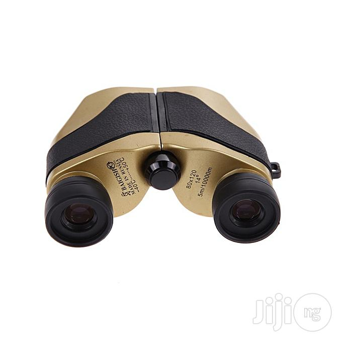 80 X 120 Zoom Folding Day Night Vision Binoculars Telescope For Outdoor Hunting Travel | Camping Gear for sale in Ikeja, Lagos State, Nigeria