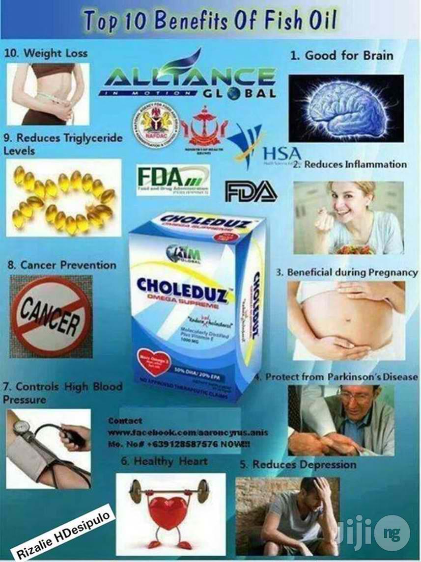 Choleduz Omega-3 Supreme   Vitamins & Supplements for sale in Dutse-Alhaji, Abuja (FCT) State, Nigeria