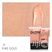 FOCALLURE Glow Liquid Highlighter Illuminator Cream - Pure Gold | Makeup for sale in Lagos State, Surulere