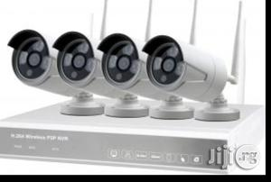 Wifi 4 Channel CCTV Camera Kit 1080p NVR (Day Night Vision) | Security & Surveillance for sale in Lagos State, Ikeja