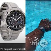 Casio Edifice Waterproof Wrist Watch | Watches for sale in Lagos State, Lagos Island