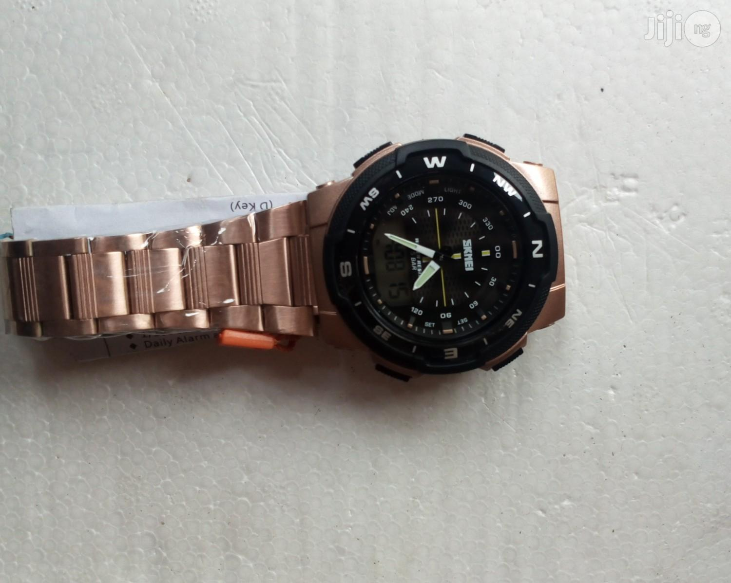 Skmei Fashion Wrist Watch | Watches for sale in Lagos State, Nigeria