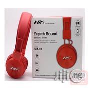NIA Super Sound Wireless Bluetooth Headphones | Headphones for sale in Lagos State