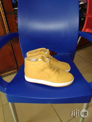 High Top Brown Ankle Canvas for Boys | Children's Shoes for sale in Lagos State, Lagos Island (Eko)