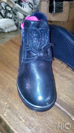Navy Blue High Top Canvas With Light   Children's Shoes for sale in Lagos State, Lagos Island (Eko)