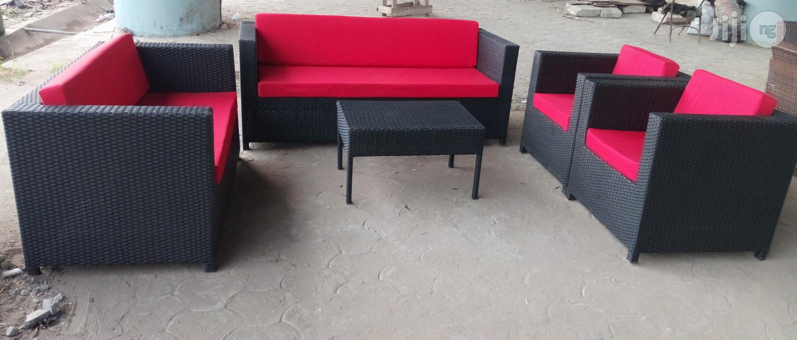 Archive: High Quality 7 Seater Out Door or Living Room Cane Chair