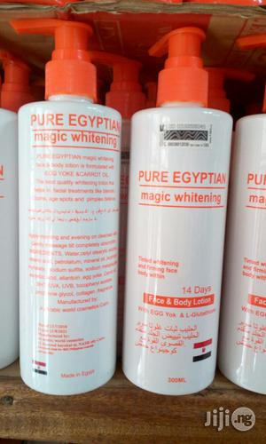 Pure Egyptian Magic Whitening Face Body Lotion - 300ml | Skin Care for sale in Lagos State, Ojo