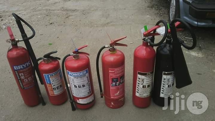 Fire Extinguisher (New And Refill)