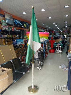 Flag With Stand | Sports Equipment for sale in Lagos State, Surulere