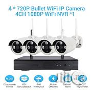 Wireless Camera Security System 1080p 4CH HDMI NVR   Safety Equipment for sale in Lagos State, Ikeja