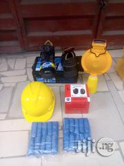 Safety Boots & Helmet & Shoe Cover & Sign Light. | Shoes for sale in Ogun State, Remo North