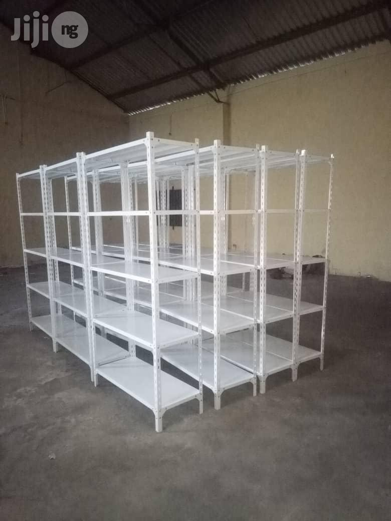New High Quality Angle Slotted Racks With 5 Pans For Display | Kitchen & Dining for sale in Lagos State, Nigeria