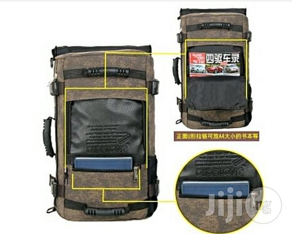 Classic Rugged Multipurpose Travel And Camping Bag | Bags for sale in Lagos State, Nigeria