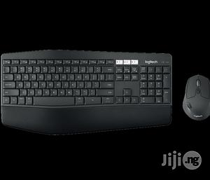 Logitech Wireless Keyboard Mouse Combo Mk850 - Black | Computer Accessories  for sale in Lagos State, Ikeja