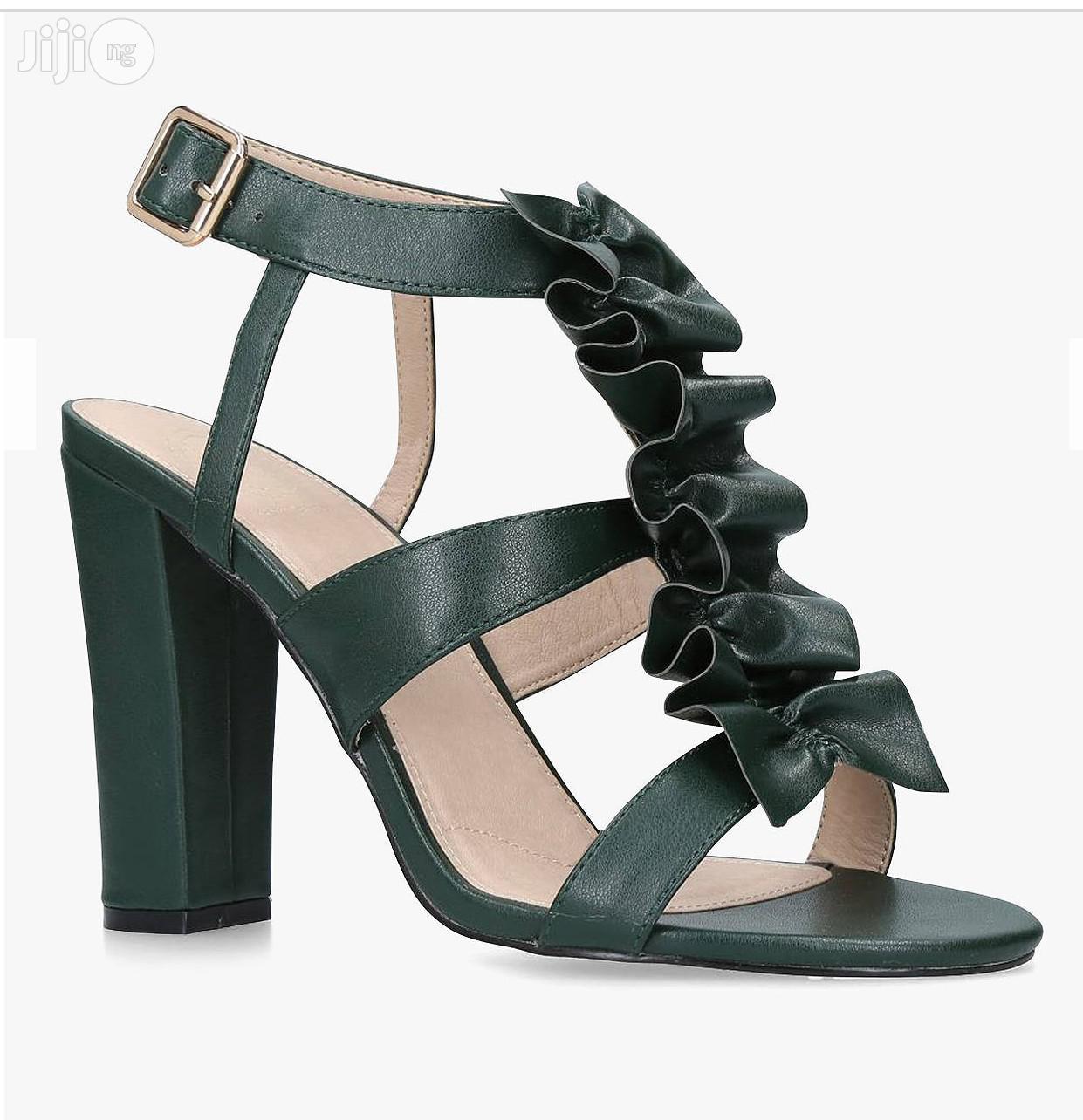 Kurt Geiger Fliss High Block Strap Sandals