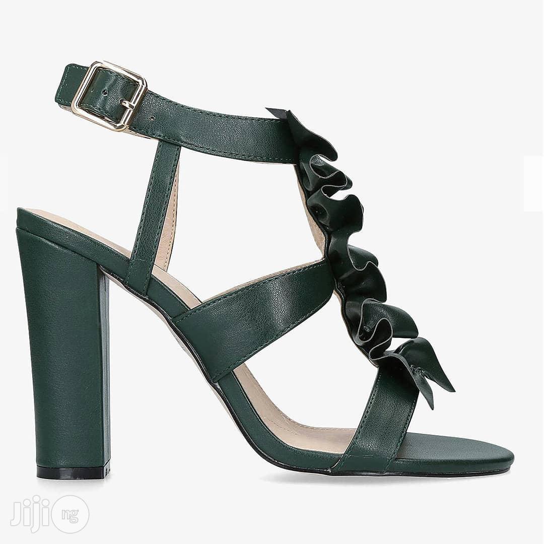 Kurt Geiger Fliss High Block Strap Sandals | Shoes for sale in Lekki Phase 1, Lagos State, Nigeria