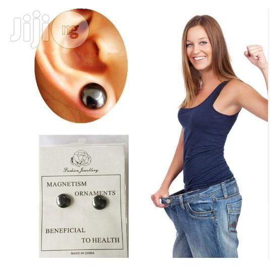 Health Bio Magnetic Therapy Magnet In Ear Eyesight Slimming Patch