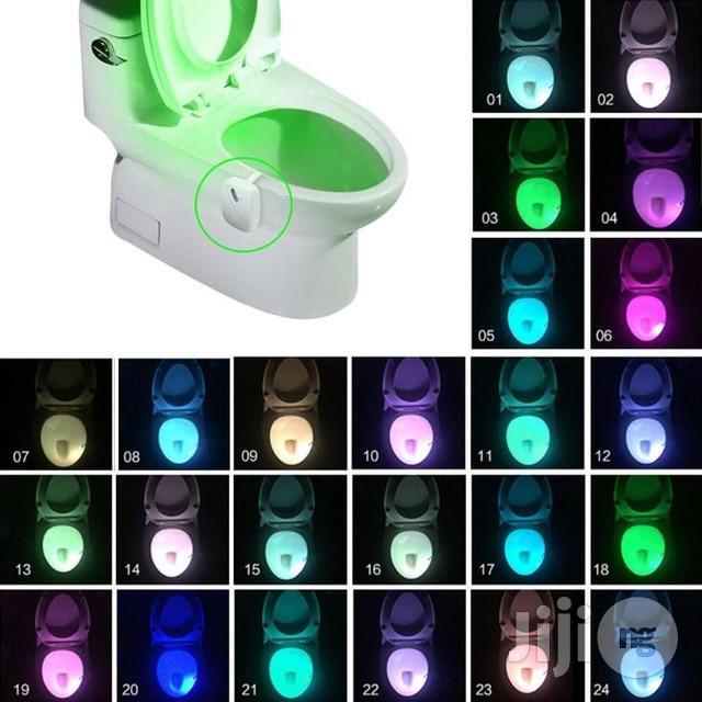 Auto-sensing Toilet Light Led Night Light Motion Sensor Backlight