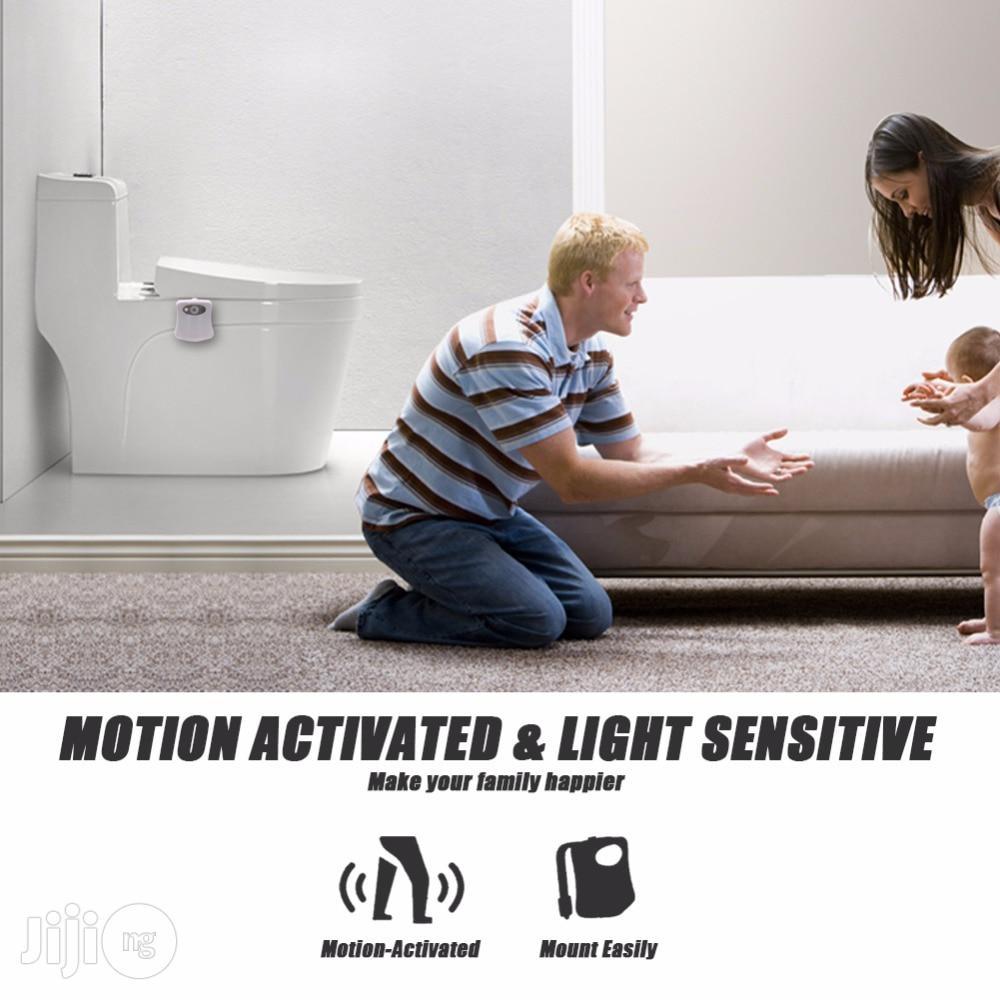 Auto-sensing Toilet Light Led Night Light Motion Sensor Backlight | Home Accessories for sale in Ikeja, Lagos State, Nigeria