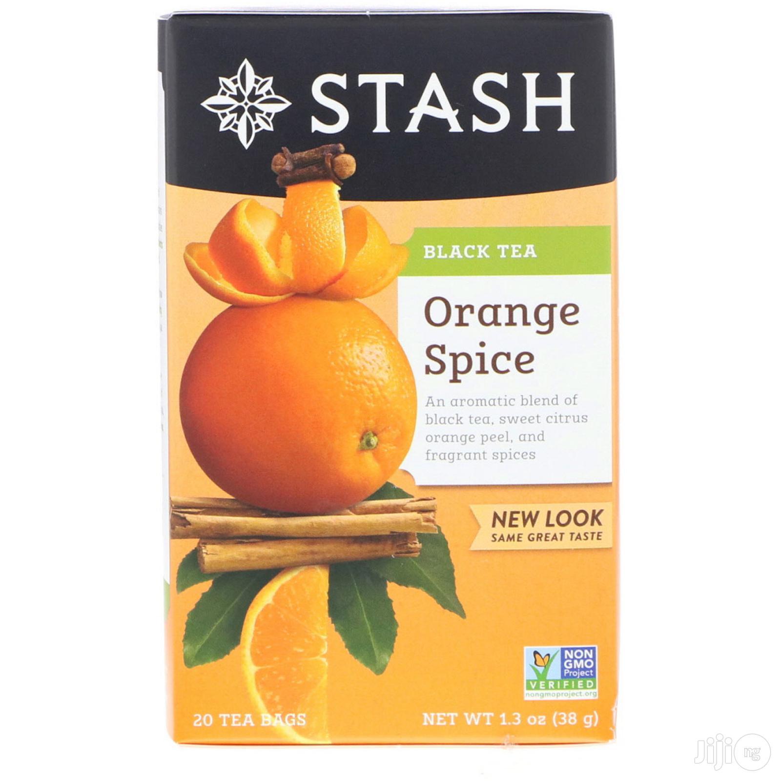 Black Tea, Orange Spice - 20 Tea Bags